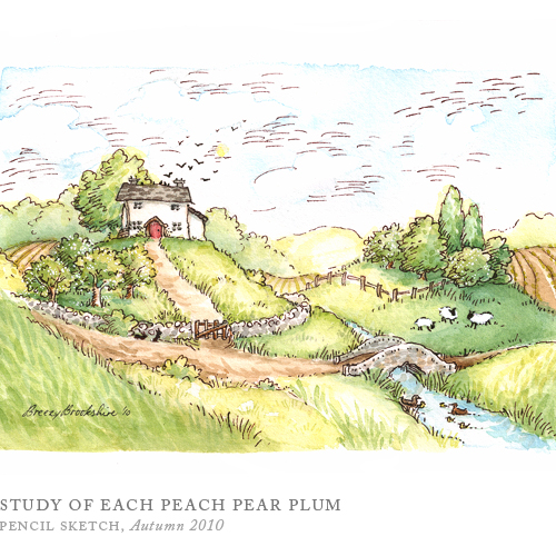 Study of Each Peach Pear Plum by Breezy Brookshire