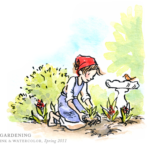 Gardening by Breezy Brookshire