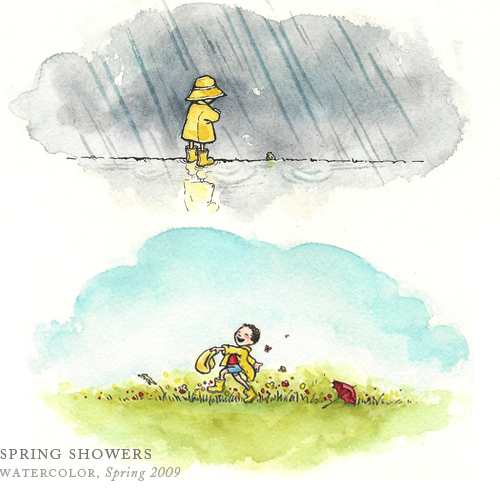 Spring Showers by Breezy Brookshire