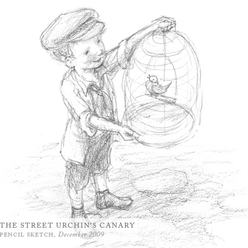 The Street Urchin's Canary by Breezy Brookshire