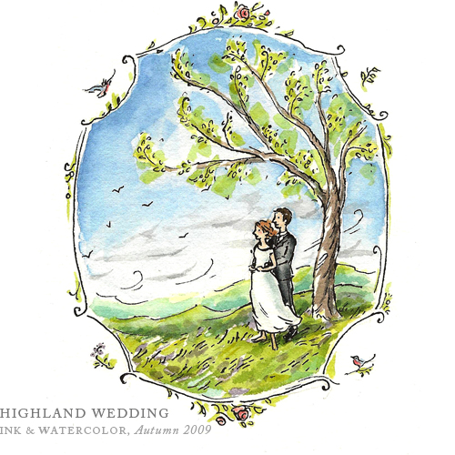 Highland Wedding by Breezy Brookshire