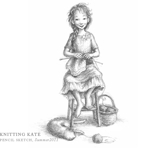 Knitting Kate by Breezy Brookshire