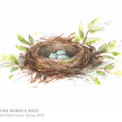 The Robin's Nest by Breezy Brookshire