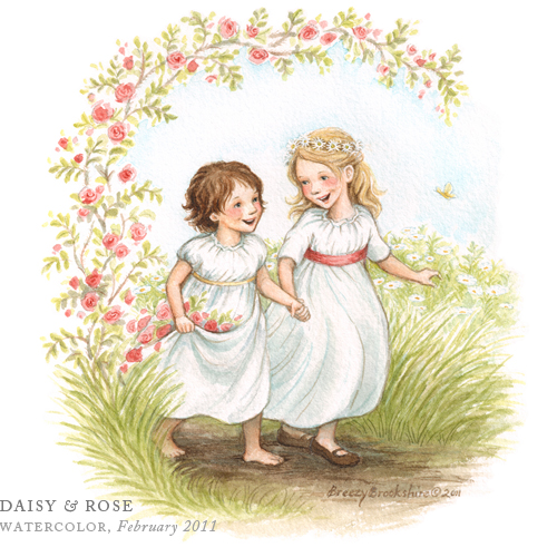 Daisy and Rose by Breezy Brookshire