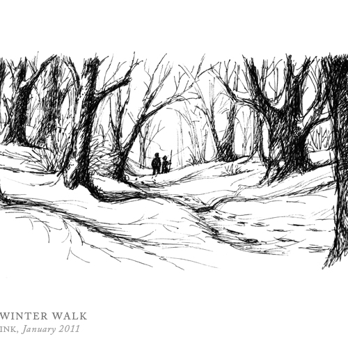 Winter Walk by Breezy Brookshire