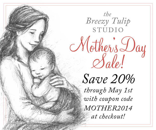 Mothers day sale a mothers love the breezy