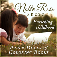 Noble Rose Press: Daughters of His Story Paper Dolls
